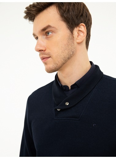 Cacharel Sweatshirt Lacivert